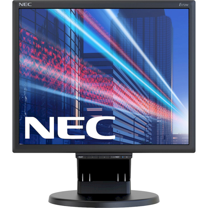 Монітор NEC MultiSync E172M Black (60005020)