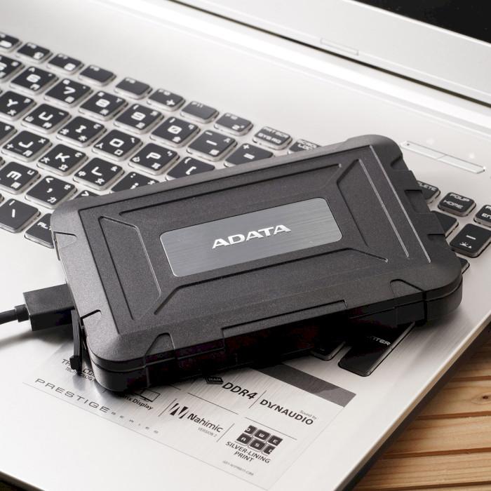 "Внешний карман ADATA ED600 2.5"" USB (AED600-U31-CBK)"