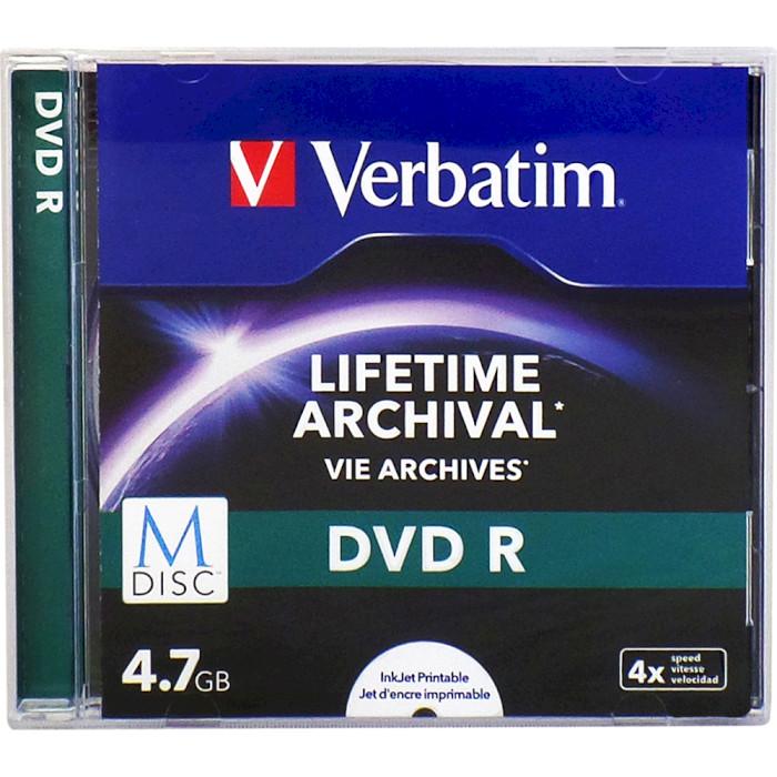 DVD-R VERBATIM MDisc 4.7GB 4x 1pc/jewel (43820)