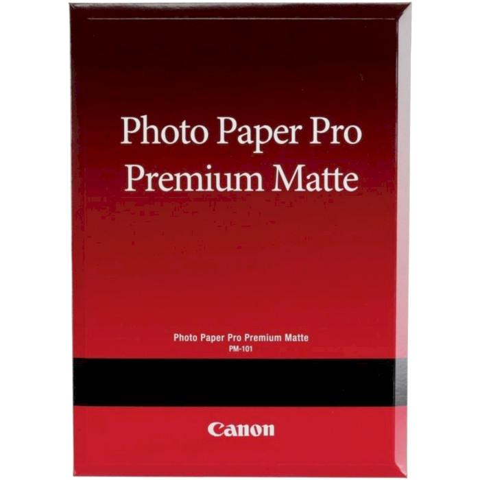Фотопапір CANON Pro Premium Matte PM-101 A2 210г/м² 20л (8657B017)