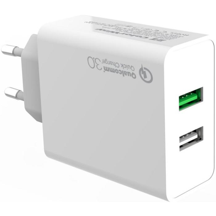Зарядное устройство COLORWAY CW-CHS021Q-WT