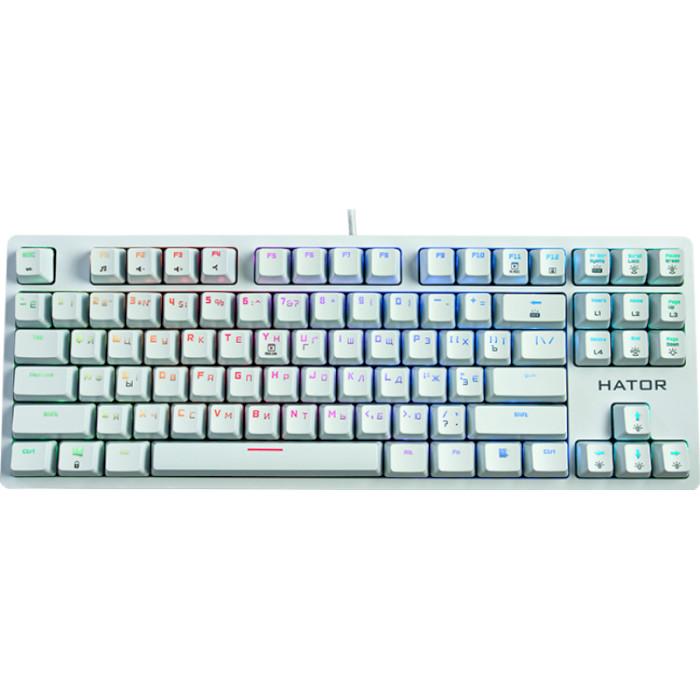 Клавіатура HATOR Rockfall EVO TKL White (HTK-631)