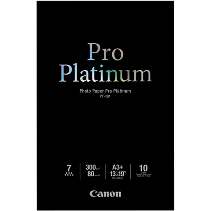 Фотопапір CANON Pro Platinum PT-101 A3+ 300г/м² 10л (2768B018)