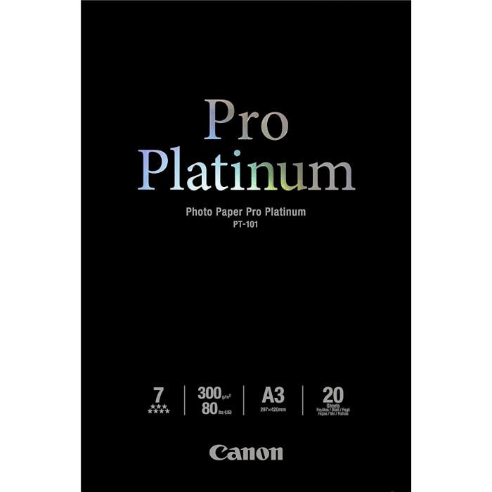 Фотопапір CANON Pro Platinum PT-101 A3+ 300г/м² 20л (2768B017)
