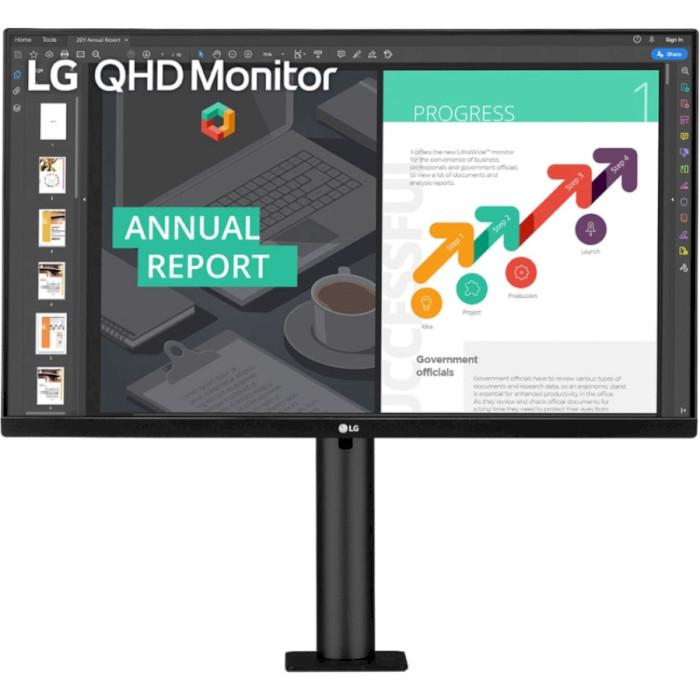 Монітор LG 27QN880-B