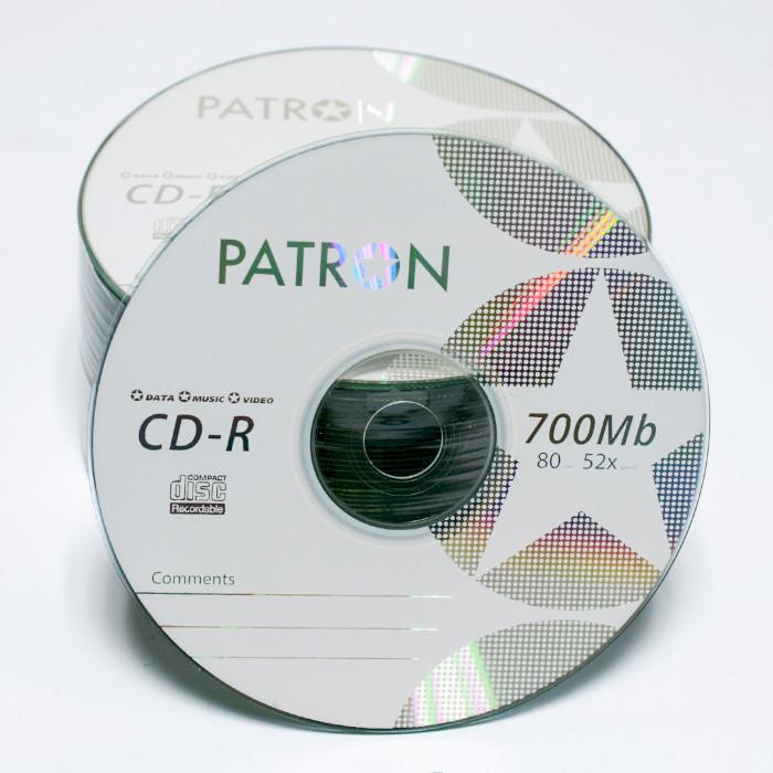 CD-R PATRON 700MB 52x 50pcs/wrap (INS-C036)