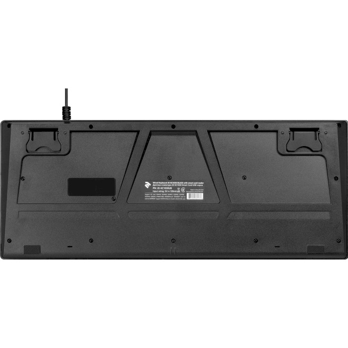 Клавіатура 2E KC 1030 Smart Card (2E-KC1030UB)