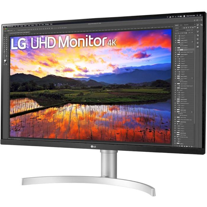 Монітор LG 32UN650-W