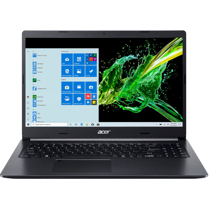 Ноутбук ACER Aspire 5 A515-55G-512V Charcoal Black (NX.HZBEU.002)