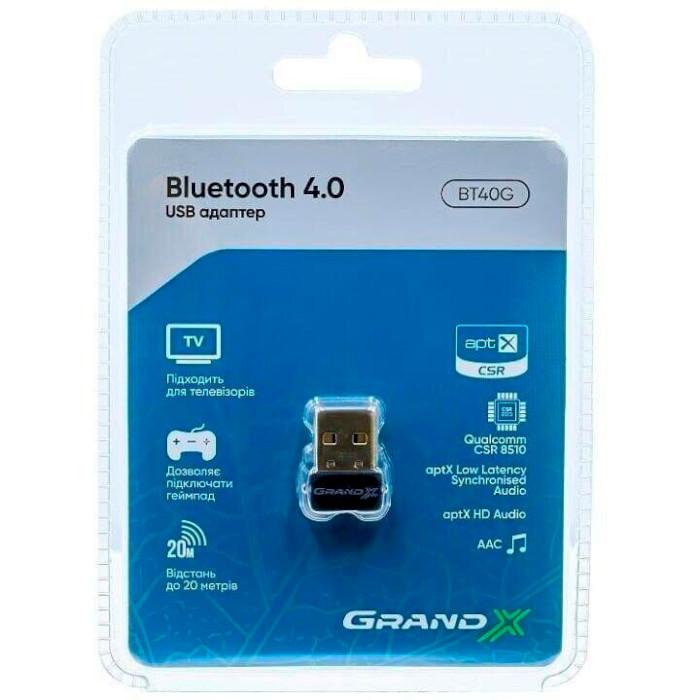 Bluetooth адаптер GRAND-X BT40G