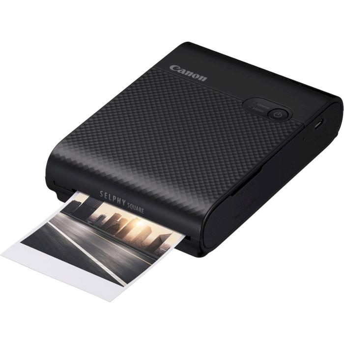 Мобільний фотопринтер CANON SELPHY Square QX10 Black