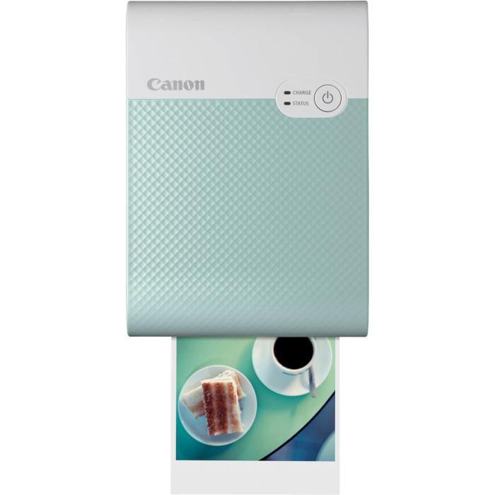 Мобильный фотопринтер CANON SELPHY Square QX10 Green (4110C007)