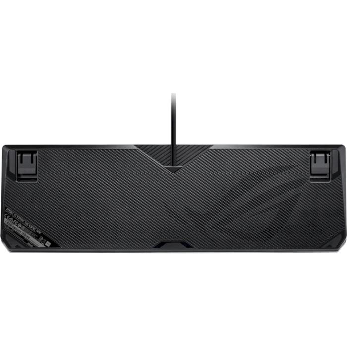 Клавіатура ASUS ROG Strix Scope RX Red Switch Ru (90MP0240-BKRA00)