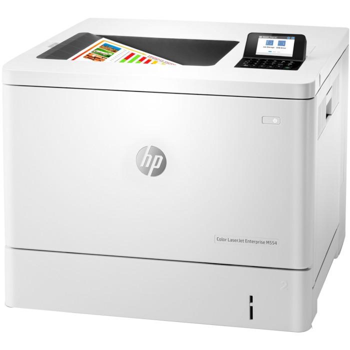 Принтер HP Color LaserJet Enterprise M554dn (7ZU81A)