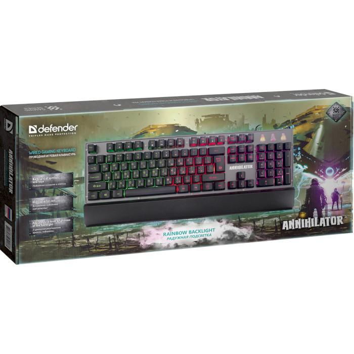 Клавіатура DEFENDER Annihilator GK-013 (45013)