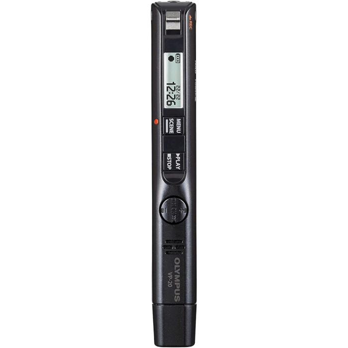 Диктофон OLYMPUS VP-20 Black (V413130BE000)