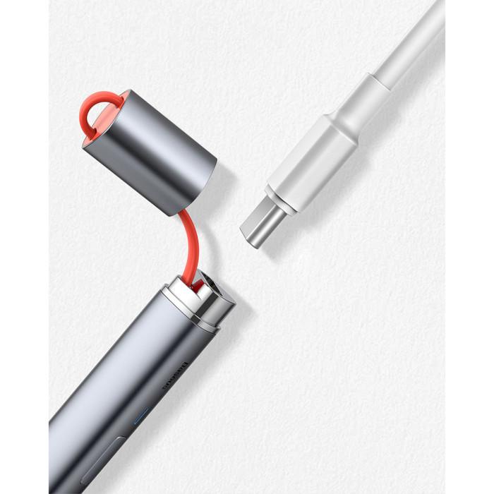 Стилус BASEUS Square Line Capacitive Stylus Pen (ACSXB-A0G)