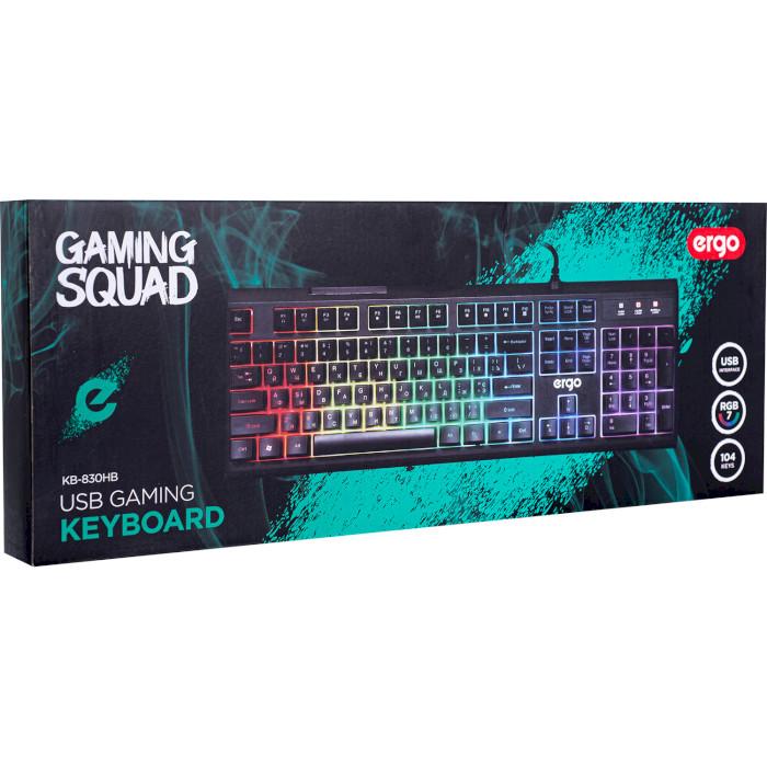 Клавіатура ERGO KB-830 HB