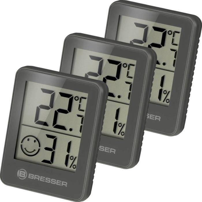 Термогигрометр BRESSER Temeo Hygro Indicator Set 3шт Gray (7000010QT5000)