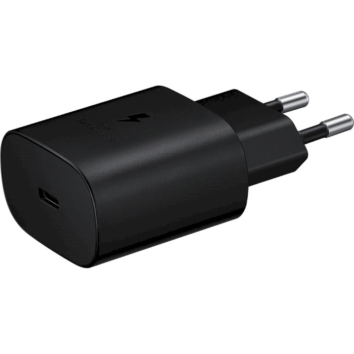 Зарядное устройство SAMSUNG 25W PD Travel Adapter Black w/o cable (EP-TA800NBEGRU)