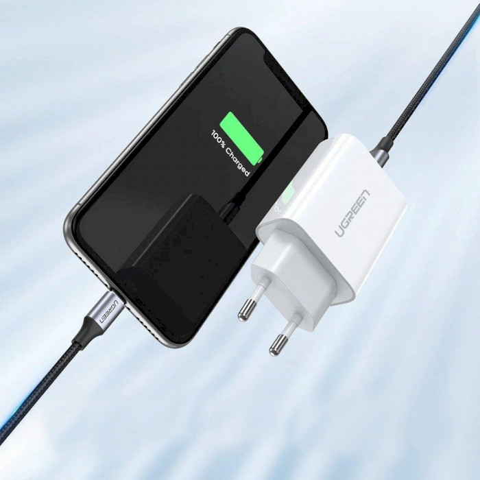 Зарядное устройство UGREEN PD Fast Charger White (60450)