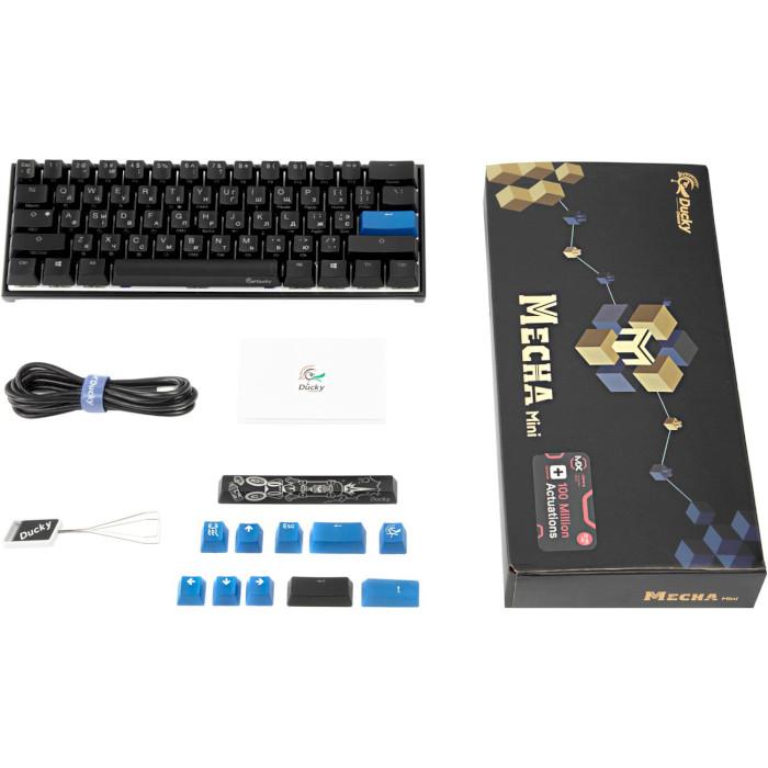 Клавіатура DUCKY Mecha Mini Cherry MX Red