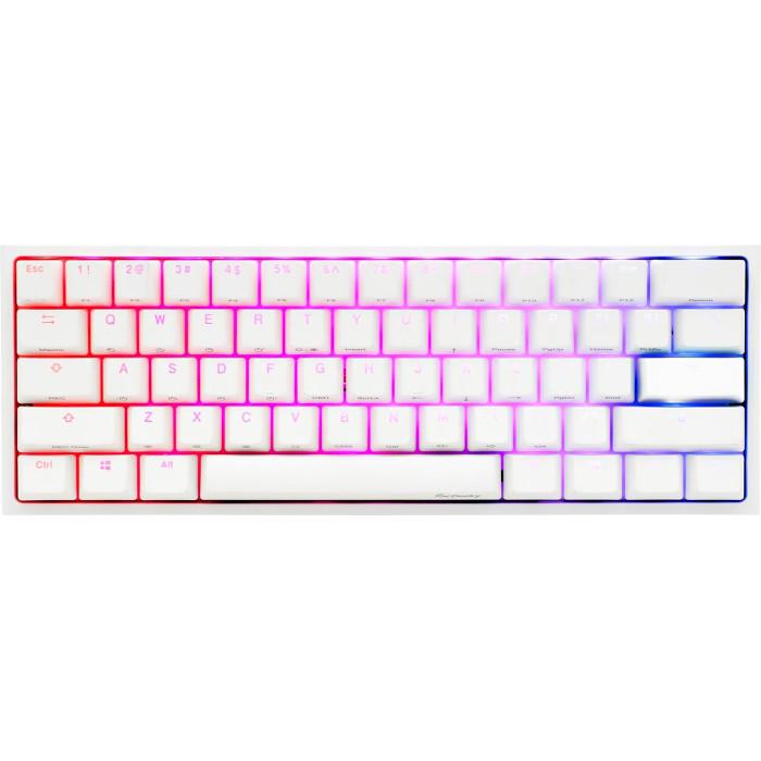 Клавіатура DUCKY One 2 Mini RGB Cherry MX Blue White