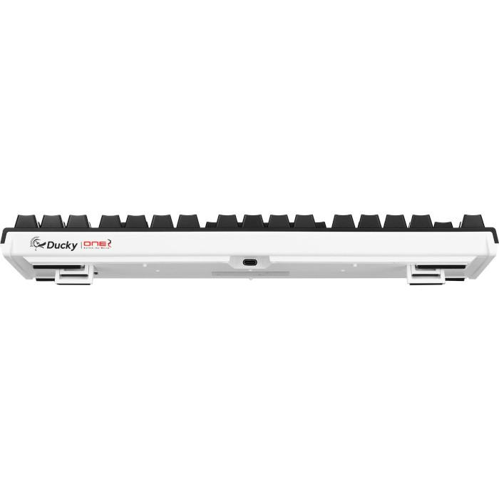 Клавіатура DUCKY One 2 RGB TKL Cherry MX Speed Silver Black/White