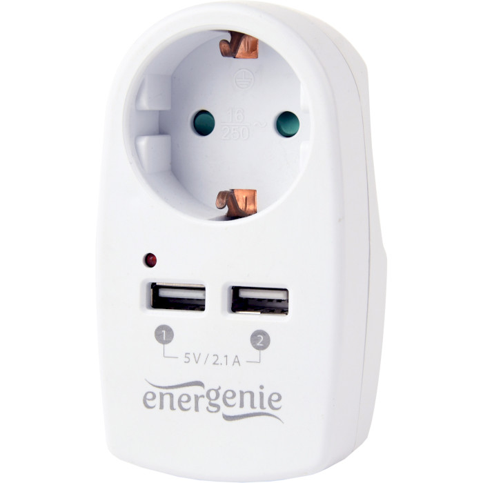 Зарядное устройство ENERGENIE EG-ACU2-02