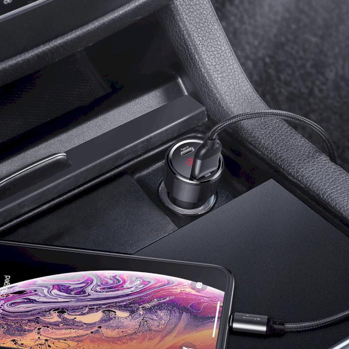 Автомобильное зарядное устройство BASEUS Magic Series PPS Quick Charger Black (CCMLC20C-01)