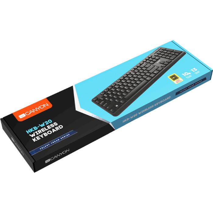 Клавіатура бездротова CANYON CNS-HKBW02-RU