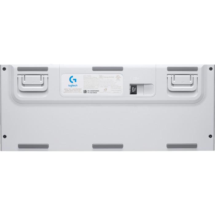 Клавіатура бездротова LOGITECH G915 TKL White (920-009664)