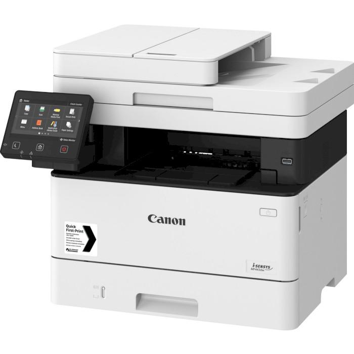 БФП CANON i-SENSYS MF443dw + картридж 057HBK (3514C008BND1)