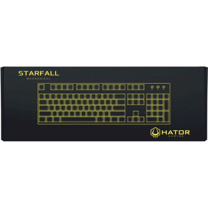 Клавіатура HATOR Starfall Red Switch (HTK-608)
