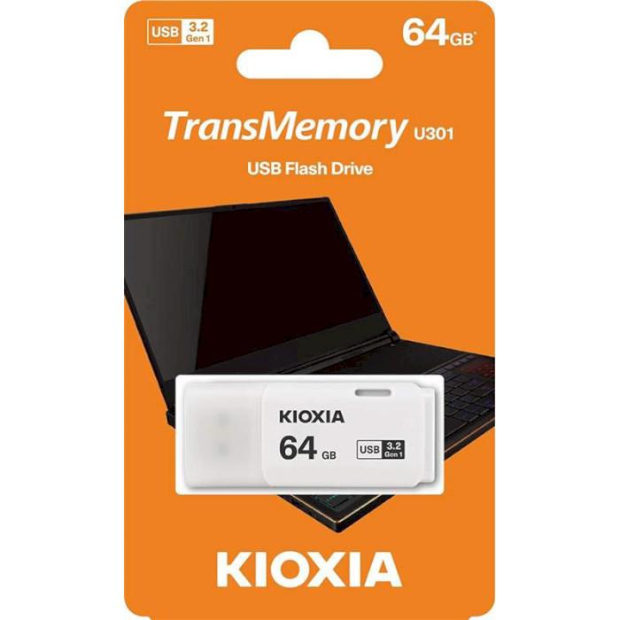 Флешка KIOXIA (Toshiba) TransMemory U301 64GB