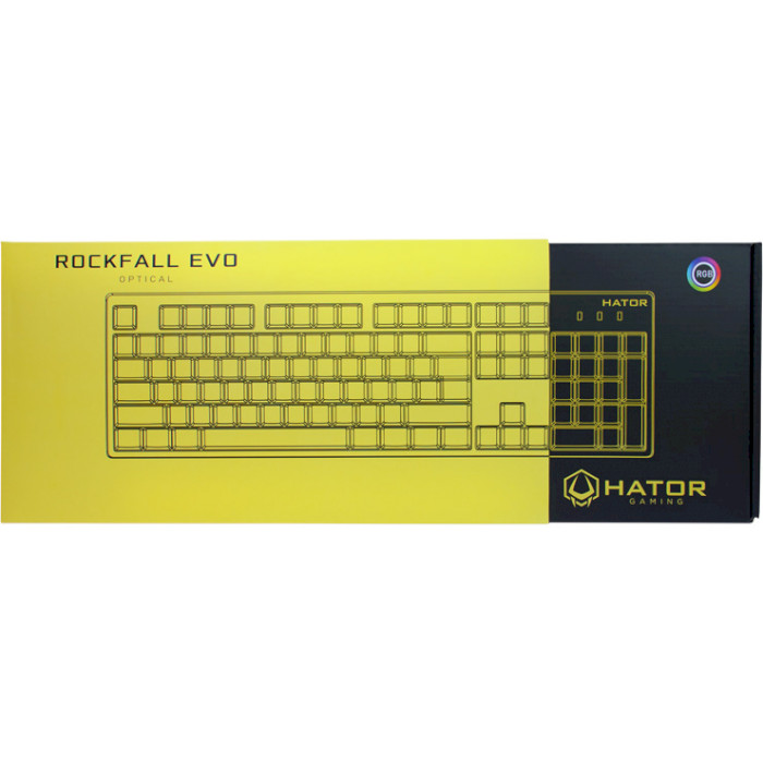 Клавіатура HATOR Rockfall EVO White (HTK-615)