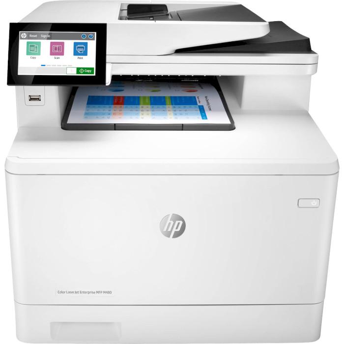 БФП HP Color LaserJet Enterprise M480f (3QA55A)