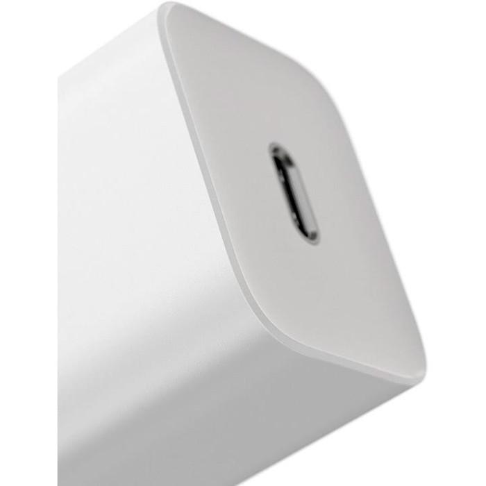 Зарядное устройство BASEUS Super Si Quick Charger White w/Type-C - Lightning Cable (TZCCSUP-B02)