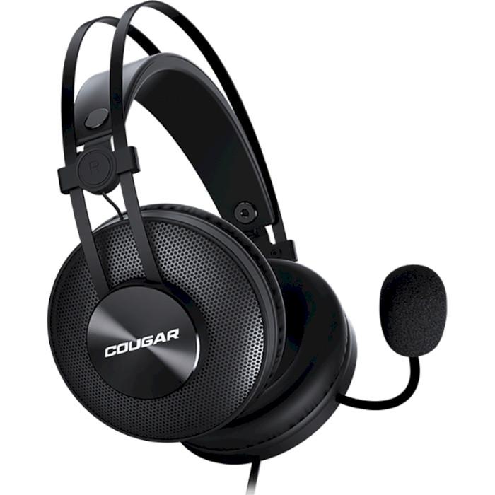 Игровые наушники COUGAR Immersa Essential Black (3H350P40B.0001)