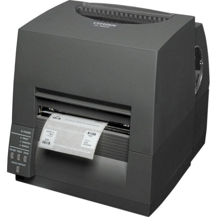 Принтер етикеток CITIZEN CL-S631II USB/COM/LAN (CLS631IINEBXX)