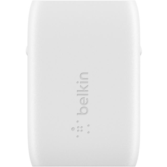 Зарядное устройство BELKIN Home Charger USB-C GaN White (WCH002VFWH)