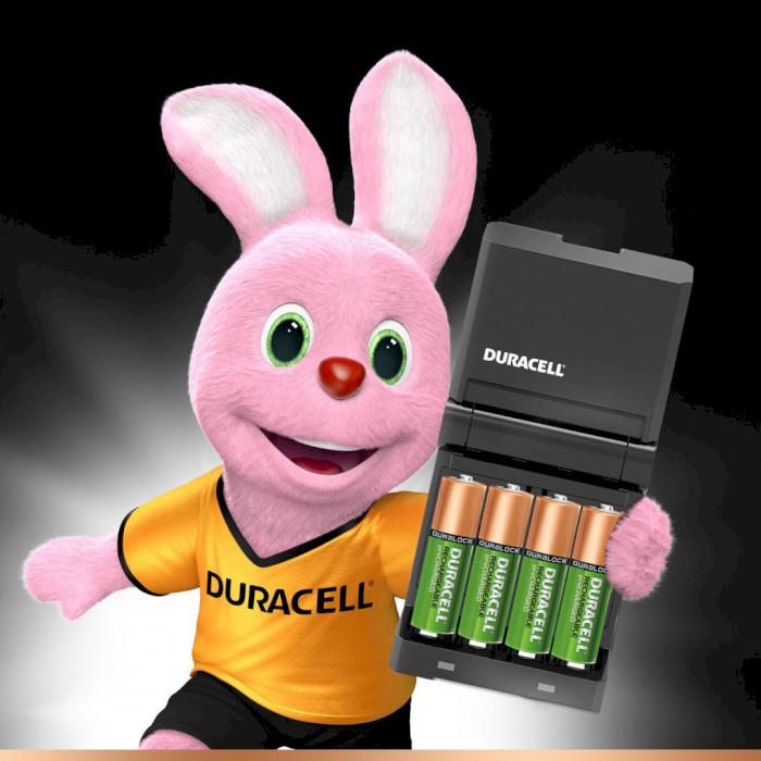 Зарядное устройство DURACELL CEF14 Value Charger + 2 x AA 1300 mAh + 2 x AAA 750 mAh (5000551/5004990)