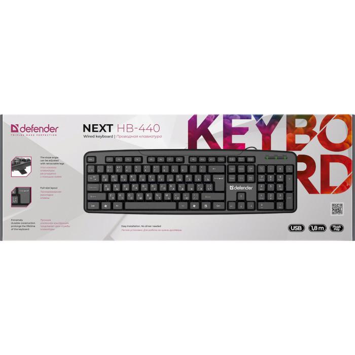 Клавіатура DEFENDER Next HB-440 (45440)