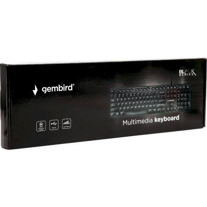 Клавіатура GEMBIRD KB-MCH-03-UA