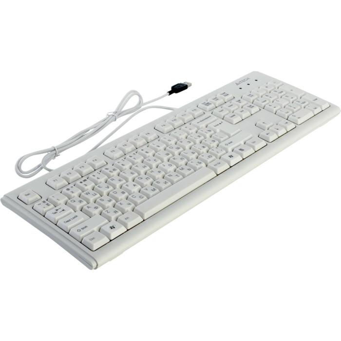 Клавіатура A4TECH KM-720 White