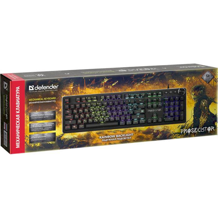 Клавіатура DEFENDER Prosecutor GK-370L (45370)
