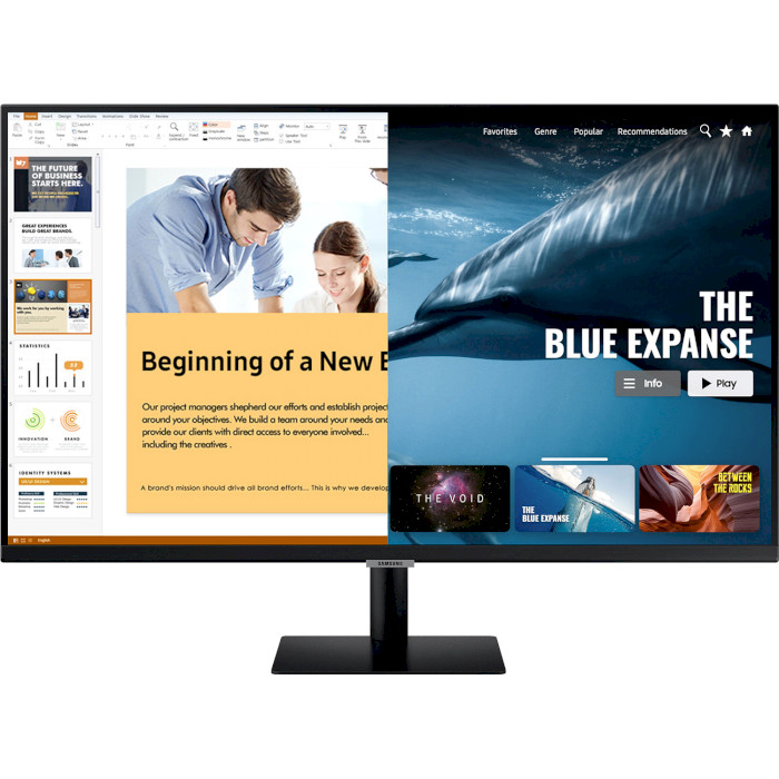 Монітор SAMSUNG Smart Monitor S27AM500NI (LS27AM500NIXCI)