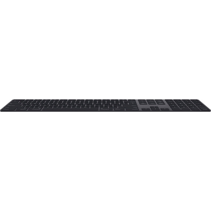 Клавіатура бездротова APPLE A1843 Magic Keyboard Space Gray (MRMH2RS/A)