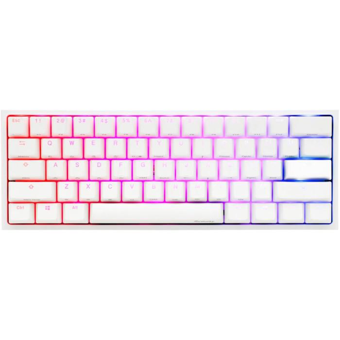 Клавиатура DUCKY One 2 Mini RGB Cherry MX Speed Silver White