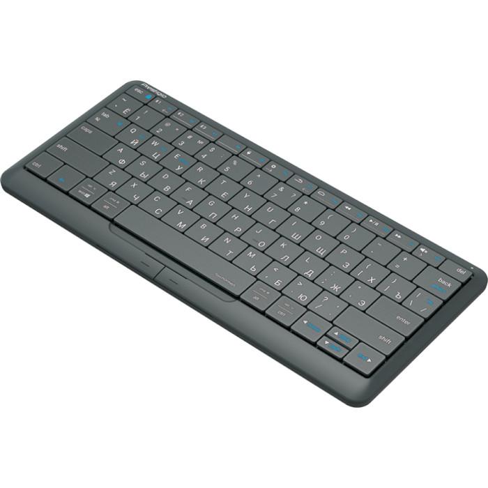 Клавіатура бездротова PRESTIGIO Click&Touch 2 (PSKEY2SGRU)